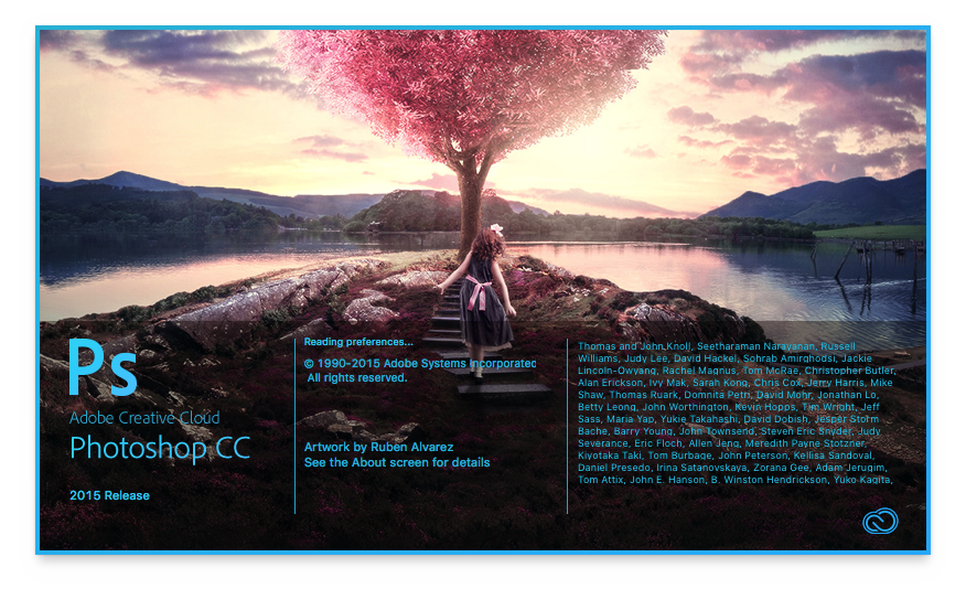 Photoshop CC 2015.1 (November 2015 release)1
